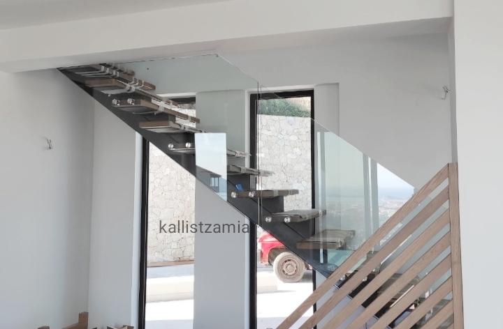 kallis #glass#tzamia#inox#πόρτα#κάγκελα